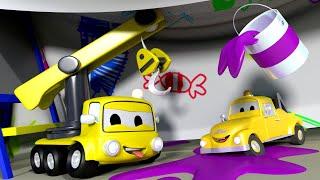 малыши в Автомобильном Городе - Домик для игр - детский мультфильм