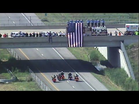 Memorial Held for Slain Missouri Officer