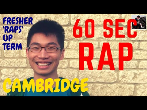 Cambridge Fresher 'Raps Up' First Term - 60 SEC RAP