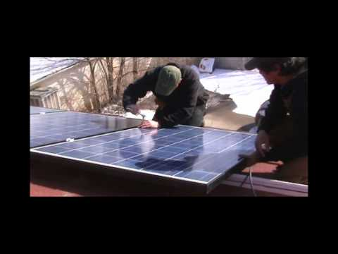 Solar Install By Denver Alternative Energy