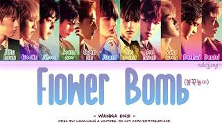 WANNA ONE (워너원) – FLOWERBOMB (불꽃놀이) (Color Coded Lyrics Eng/Rom/Han/가사)