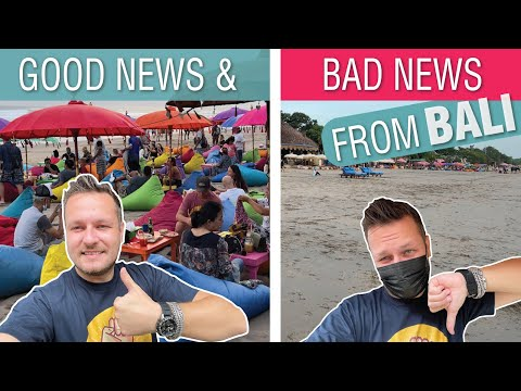 GOOD and BAD NEWS from BALI Indonesia