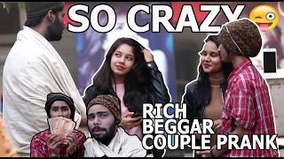 भिखारी ने अपनी प्रेमिका के लिए अजनबियों से पैसे मांगे ! | PRANK IN INDIA|
