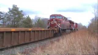 Freight Train Goes Into Emergency!