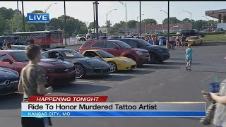 Memorial event held for local tattoo artist who was car enthusiast