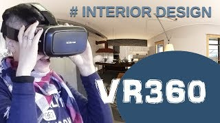 Virtual Reality VR360 Interior Design 3D experience