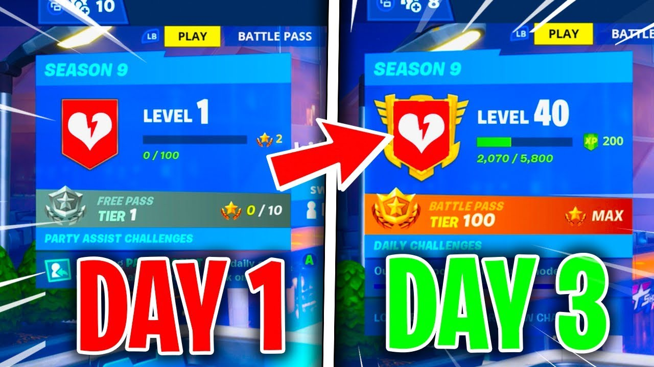 How To Level Up Fast Fortnite Season 9 Fastest Solo Xp Youtube