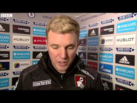 Chelsea 0-1 Bournemouth Eddie Howe says it's Cherries' biggest result ever
