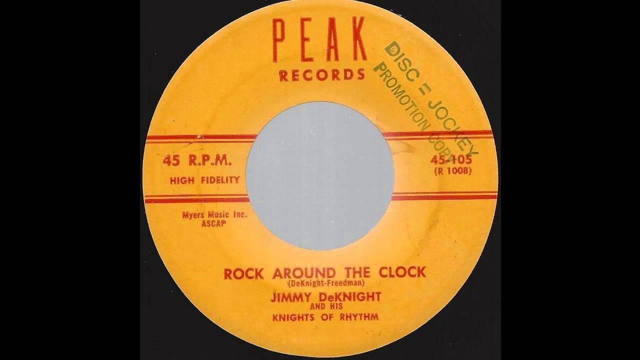 Jimmy DeKnight   Rock Around The Clock   U002759 Philly Rocker On Peak Label