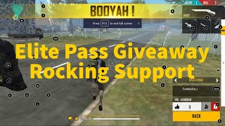 Elite Pass Giveaway Free Fire Live   || ONLINE GAME | #freefire #online #game