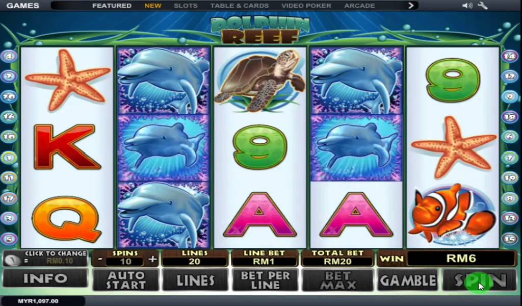 Dolphin reef slot foxwood poker tournament results