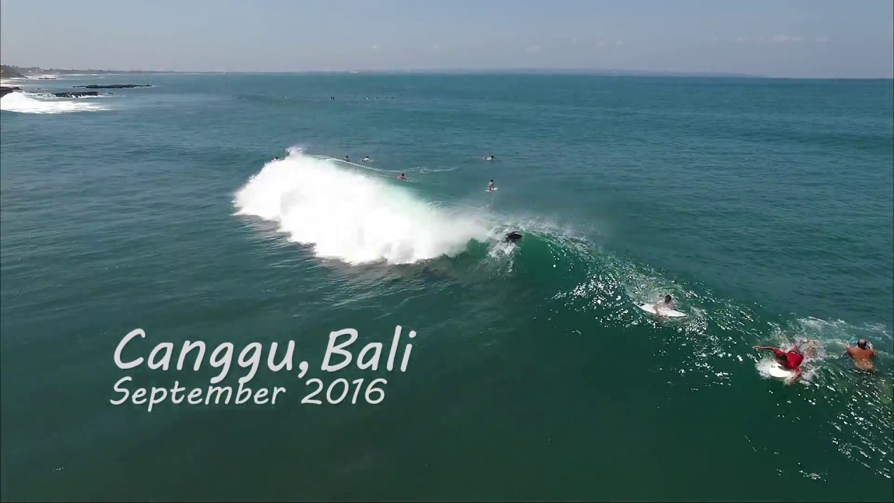 Dji Phantom 3 Drone >> Canggu Bali drone surf video - YouTube
