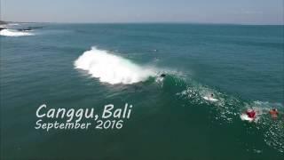 Canggu Bali drone surf video