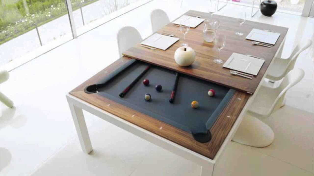 Pool And Dining Table Fusion Pool Table And Dining Table Youtube