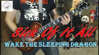 Sick Of It All  - Wake The Sleeping Dragon - Guitar Cover (Tab in description!)