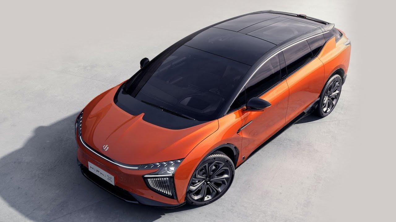รถยนต์ไฟฟ้าใหม่ SUV HiPhi 1 EV  2021 6 ที่นั้ง วิ่งได้ 610 km  สุดล้ำจากจีนเตรียมเปิดตัวต้นปีหน้า