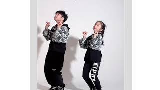 게춤|블랙핑크|유남매|현실남매|kipop|kidsfas…