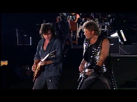 Johnny Hallyday / Paul Personne / Norbert krief - Toute la  musique que j aime Live 1993