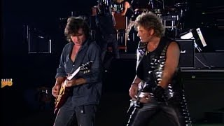 Download Johnny Hallyday / Paul Personne / Norbert krief - Toute la  musique que j aime Live 1993 MP3 song and Music Video