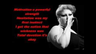 Gossip -- Move in the right direction Lyric