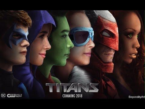 CW's TITANS 2018  Alan Ritchson , Minka Kelly