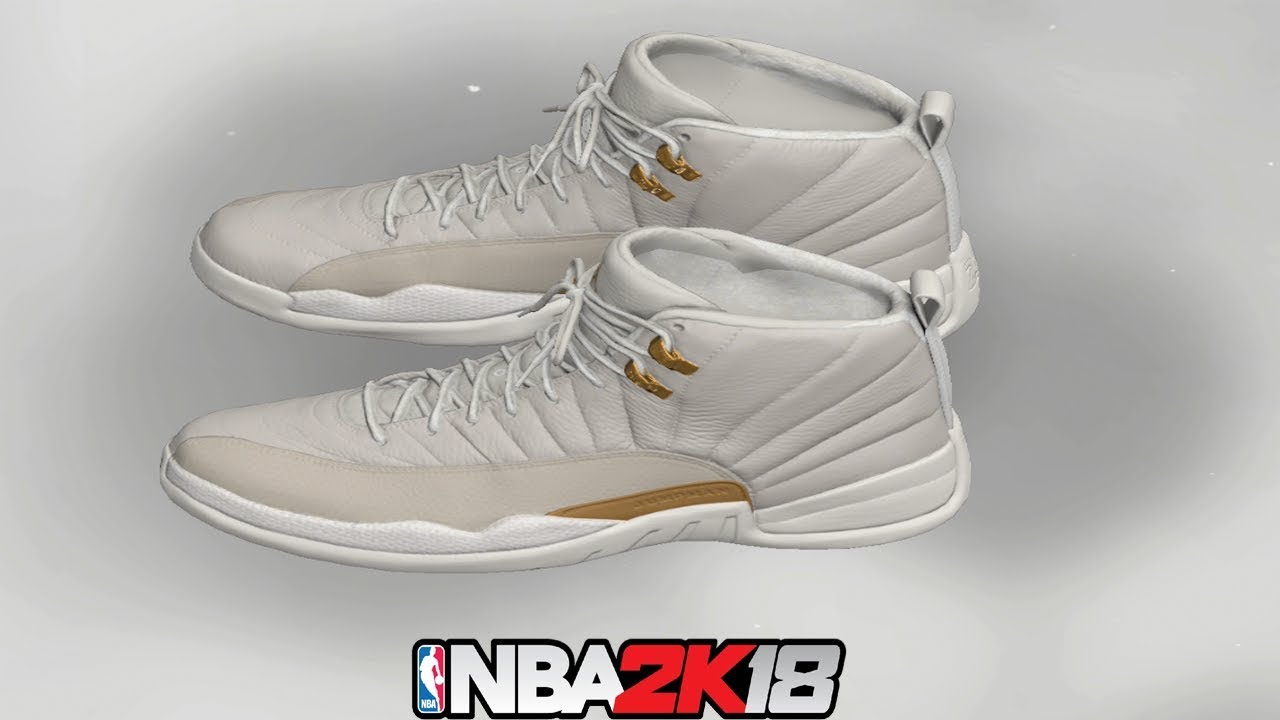71c845dbf3a4c5 NBA 2K18 Shoe Creator ⋆ NBA2K18⋆ Jordan 12 OVO - YouTube