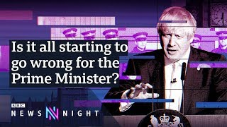 Boris Johnson's first week back in Parliament: Is it going wrong? - BBC Newsnight