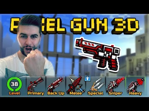 TRY HARD NOOB WEAPONS ONLY!! THE LAST TIME EVER! | Pixel Gun 3D