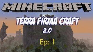 Minecraft Terra Firma Craft 2.0 ep1 - Recomeço!
