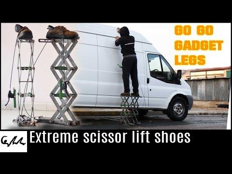 Scissor Lift Shoes May Be OSHA Compliant | Hackaday