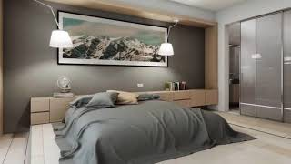 Modern bedroom beautiful and functional ➤ Interior design trends 2019