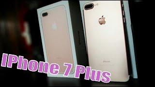 IPHONE 7 PLUS IN ROSE GOLD 32GB UNBOXING AND SETUP!!