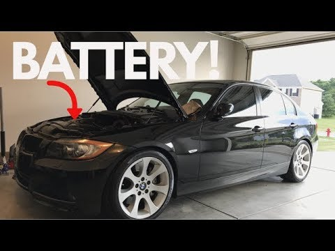 how to replace register your bmw battery diy youtube. Black Bedroom Furniture Sets. Home Design Ideas