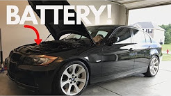 How To Replace/Register Your BMW Battery! DIY!