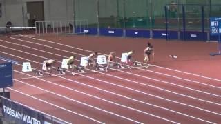 Чемпионат России по легкой атлетике. Бег 60 метров(Кристина Сивкова уверенно побеждает в первом забеге с результатом 7,40!, 2016-02-23T10:33:12.000Z)