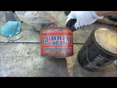 undercoating with oil, finishing up repairs on the rusty vw bug. pt4