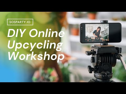 Virtual Earth Day Celebration DIY Upcycling Activities Ideas