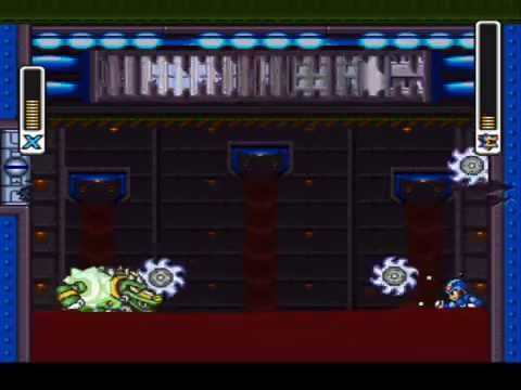 Megaman X2 Hardtype Preview #2 - Wheel Gator |