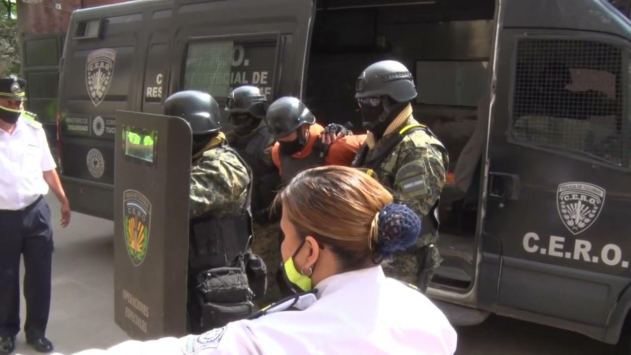 Rejas ya cumple su condena en el pabellón de máxima seguridad de Villa Urquiza