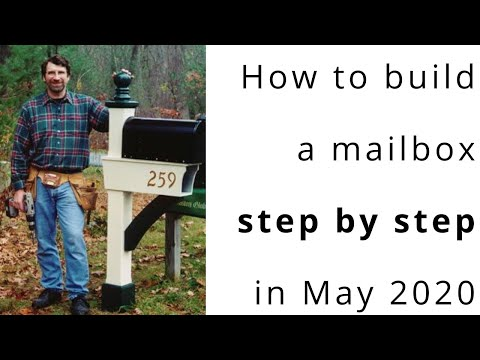 build your own mailbox post how to make a mailbox 12806