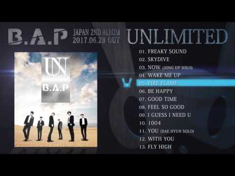 B.A.P / JAPAN 2ND ALBUM 『UNLIMITED』【全曲ダイジェスト】