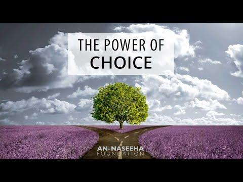 The Power of Choice - Moutasem Al-Hameedi