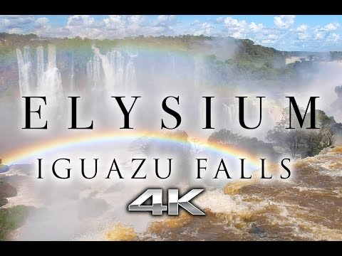 """ELYSIUM: Iguazu Falls 4K """"Now We Are Free"""" Gladiator Song (Extended) + Nature Relaxation Music Video"""