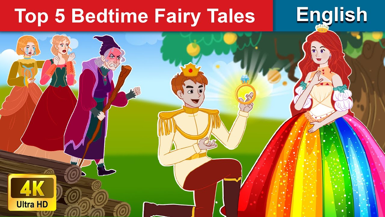 Top 5 Bedtime Fairy Tales 👸 Bedtime stories 🌛 Fairy Tales For Teenagers | WOA Fairy Tales