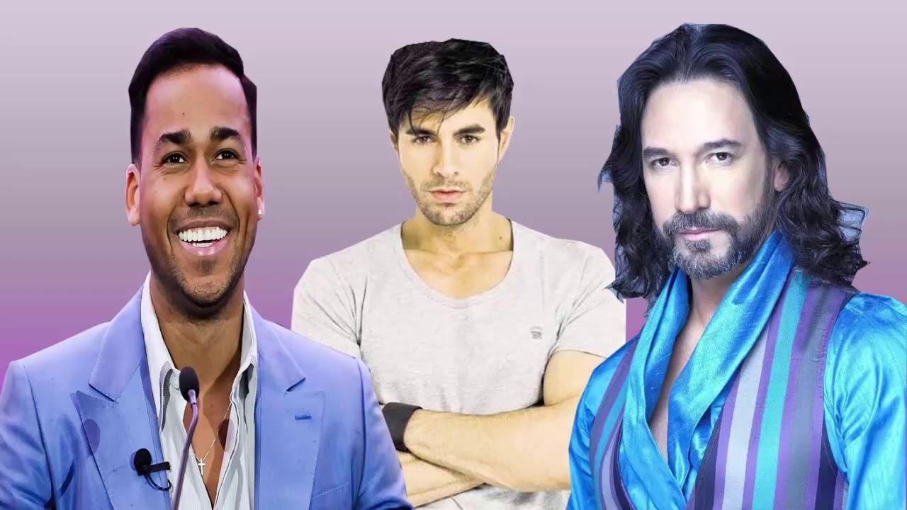 Enrique Iglesias, Marco Antonio Solis, Romeo Santos Exitos ROmánticos 2020