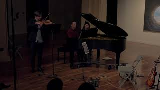 Adieux by Hugh Levick performed by Panic Duo
