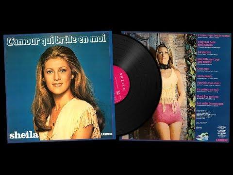 SHEILA - ALBUM L'AMOUR QUI BRULE EN MOI - 1976