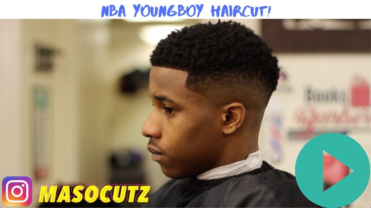 NBA YOUNGBOY HAIRCUT TUTORIAL !!! - YouTube