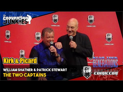 William Shatner & Sir Patrick Stewart - Montreal ComicCon - Full Panel