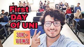 First Day of University|| Bahria University Vlog || Vlog #11 || MoLOG